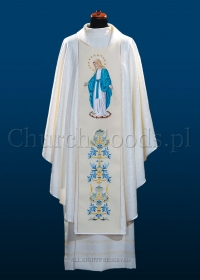 Marian chasuble 3098