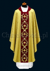 Gold contemporary chasuble 1115