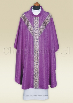 Chasuble in semi-gothic style 2312-P